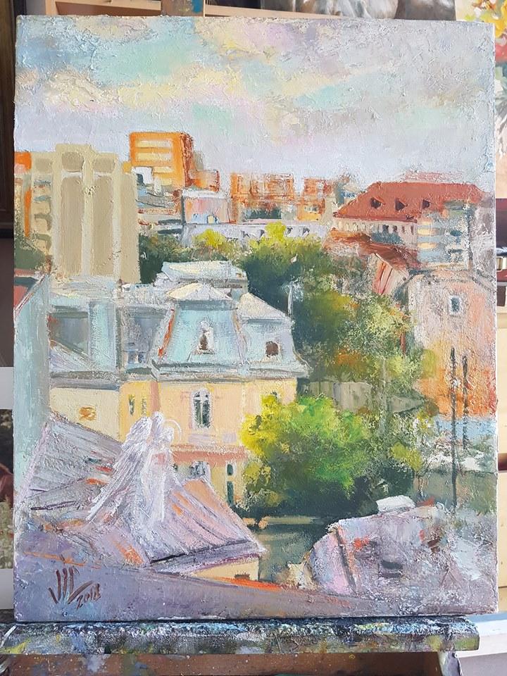 Vali Irina Ciobanu - Pictura București