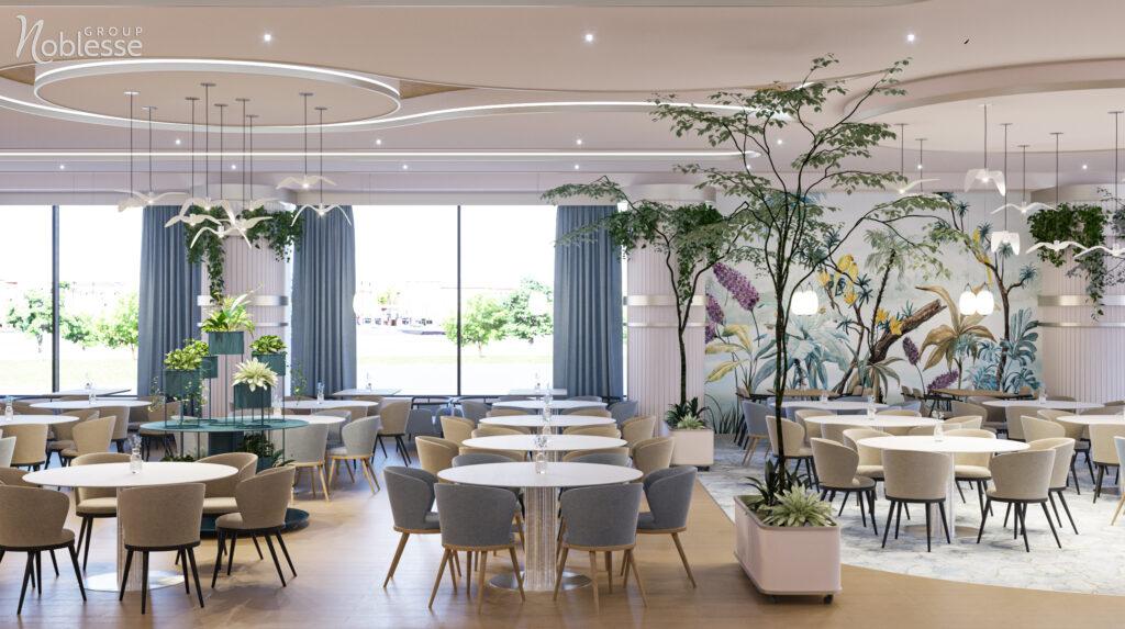 design restaurant modern Noblesse Group
