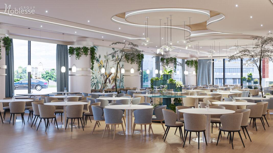 Noblesse Group - restaurant modern Natura Lake