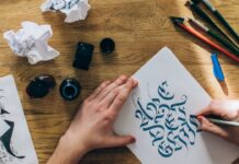 curs online caligrafie